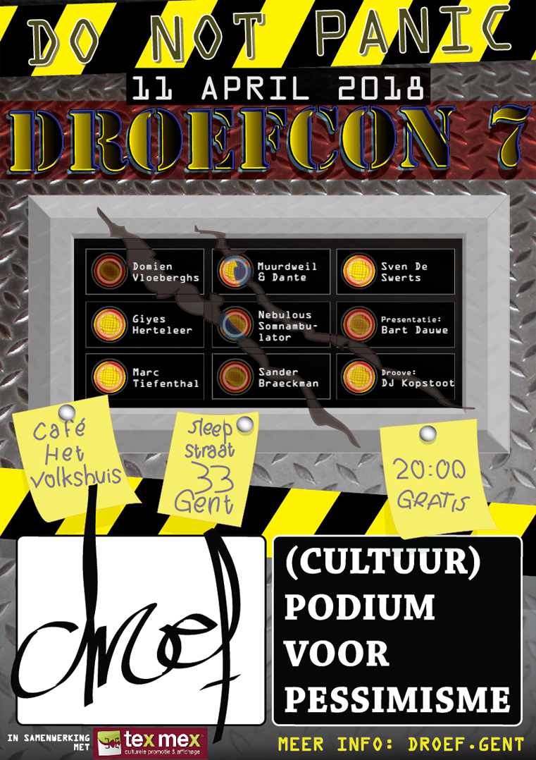 DroefCon 7 poster