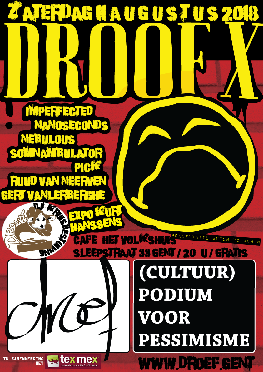 Droof X poster